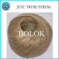 7 pcs/lot Natural jute twine (1.5 2mm)110yards/ball (2 ply twisted) jute packinng rope, DIY Jute twine