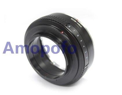 Amopofo EF-NEX Objectif Tilt Adaptateur pour Canon EF Mont Lens pour Pour Sony E NEX-3, NEX-5, NEX-7, NEX-C3, NEX-5N, A6000, A6300, A6500,