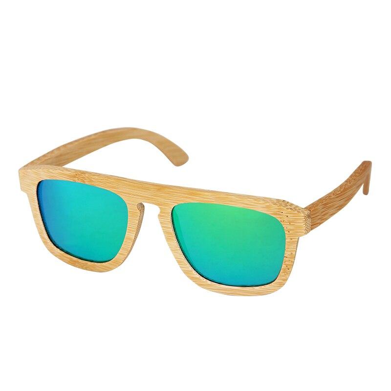 Bambus rahmen Vintage Polarisierte sonnenbrille für frauen mens Holz ...