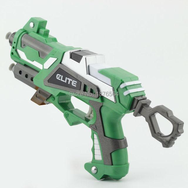 Pistola manual de elástico suave pistoleros tire niños armas de juguete De Plástico de Juguete