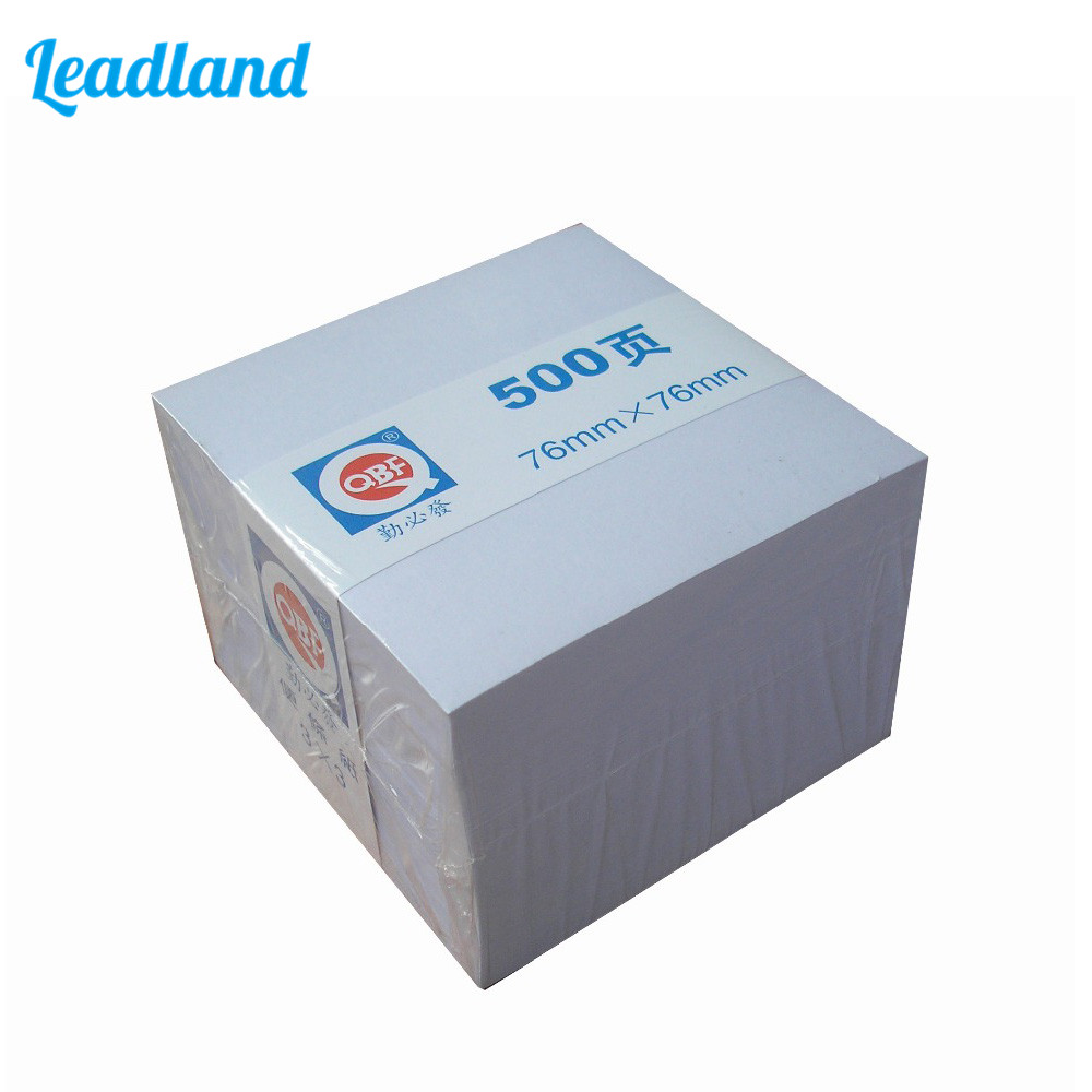 500 Page Loose Leaf Note Paper 90*90 mm Note Paper Office Supplies 1125 пазлы educa пазл бал феечек 1000 элементов