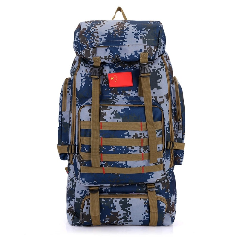 75L New Men And Women Models Large Capacity Backpack Camouflage Mountaineering Bag Outdoor Backpack Travel   Luggage A5115 2016 new arrival large capacity travel backpack mountaineering bag oxford men s bag free shipping