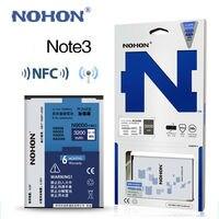 Original NOHON B800BE NFC Battery For Samsung Galaxy Note 3 III Note3 N9000 N9006 N9005 N9009 N9008 N9002 Real Capacity 3200mAh