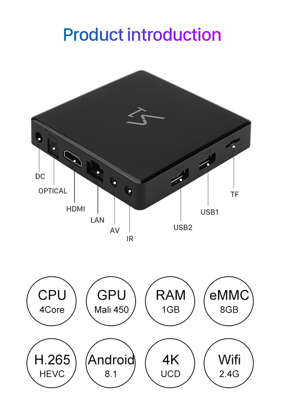 S1 IUDTV Box 1 Year UK Sweden IPTV Subscription FULL HD Android 8.1 HD Smart TV Box IUDTV Germany Italy Indian IPTV Subscription (3)
