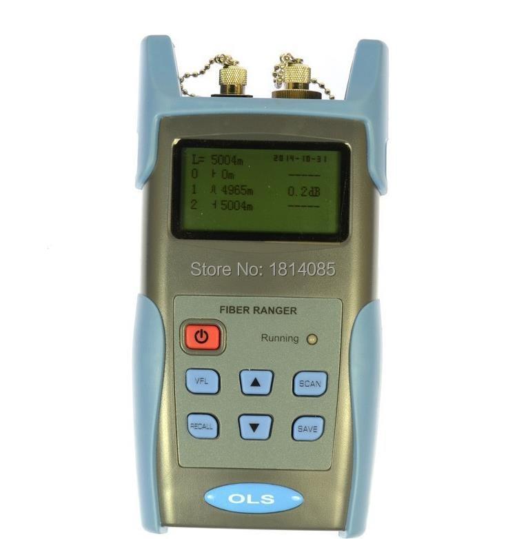 Optisko šķiedru Ranger 60KM OTDR principa testera skaitītājs - Sakaru aprīkojums