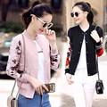 YONO Fashion Slim Baseball Women Jackets Beauty Print Jaqueta College Hooded Coat Patchwork Cardigan Moletons Sweatshirts Casaco