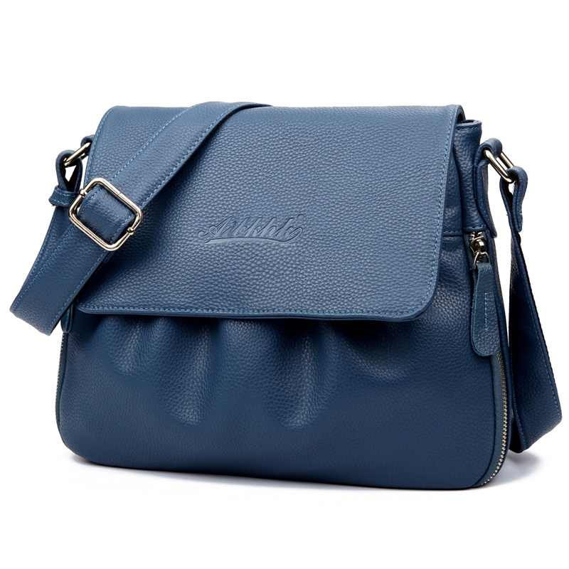 ddeff04e3d8d ... Женская стильная модная женская сумка из натуральной кожи, винтажная женская  сумка на плечо, женская ...