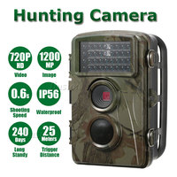 Professional Wildlife Hunting HD Mini Camera 34pcs IR Night Vision LED Motion Sensor Outdoor Waterproof Outdoor Camcorder DV