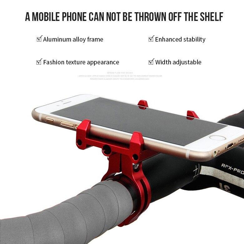 GUB G-86 CNC adjust Bicycle Bike moto mount Stand Phone GPS Holder Mount Case support For Hua-wei Apple i-Phone 6 i-phone6 Plus