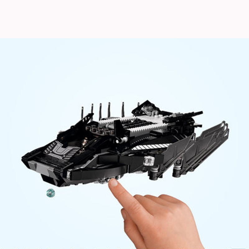 Marvel's The Avengers Black Panther ROYAL TALON FIGHTER ATTACK LegoINGlys 76104 Model Building Block Set Kids Brick Toy