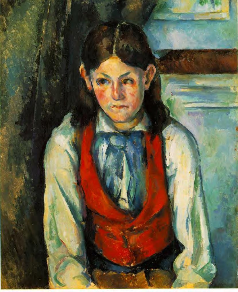 oil paintings,Handmade Oil Painting Reproduction on linen canvas,boy-in-a-red-vest-1890-2 BY paul Cezanne,person oil paintingoil paintings,Handmade Oil Painting Reproduction on linen canvas,boy-in-a-red-vest-1890-2 BY paul Cezanne,person oil painting