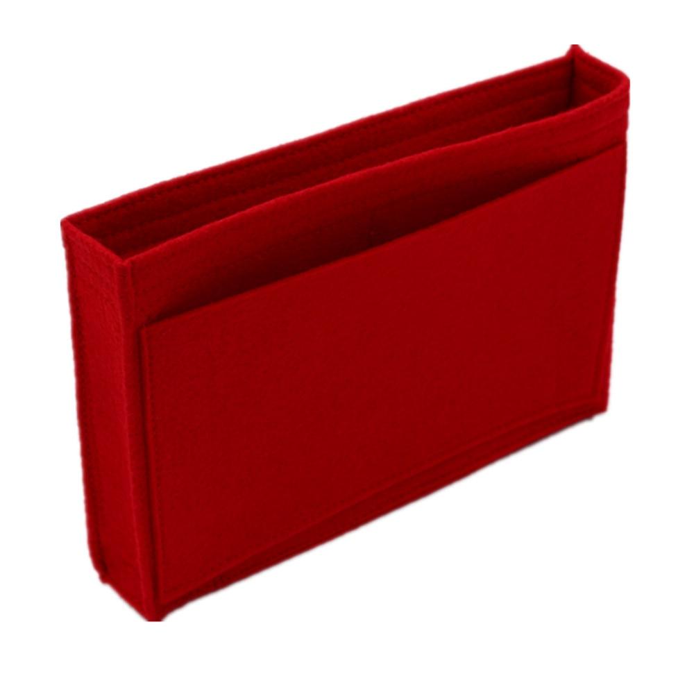 Change toiletry pouch 19 26  bag purse insert Organizer Makeup Handbag travel organizer Inner Purse Cosmetic bag base shaper 5