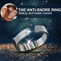 4 Sizes Acupressure Anti Snoring Ring Natural Treatment Against Snoring Solution Anti Snore Device Apnea Sleeping Aid