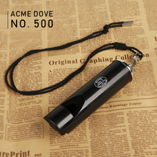 ACME500 racing pigeon training whistle movie soundtrack whistle waterproof durable long distance resin black whistle soundtrack matrix