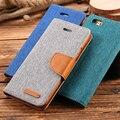 Para samsung galaxy s6 s7 edge case ranura para tarjeta de la pu de cuero de color hit wallet casos de la cubierta para el iphone 6 6 s para iphone 7 plus i5 5S SÍ