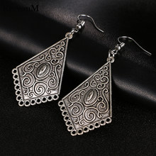 RscvonM New Bohemia long earrings for Women Tibetan Punk Earrings 2018 Pendiente Earrings drop shipping C139(China)