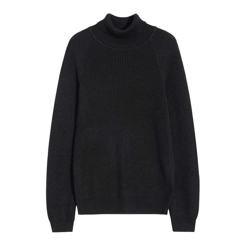 Пионерский лагерь Новый Водолазка мужская брендовая одежда на осень-зиму Однотонный свитер мужской наивысшего качества теплый пуловер муж...