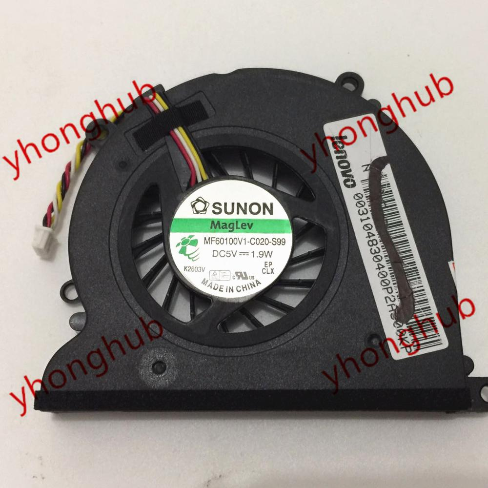 SUNON MF60100V1 C020 S99 DC 5V 1 9W 4 wire Server Laptop Cooler Fan