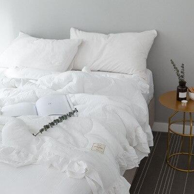 Однотонное розовое, зеленое, тонкое летнее одеяло, покрывало для кровати, лоскутное одеяло, подходит для взрослых, детей, домашний текстиль - Цвет: H
