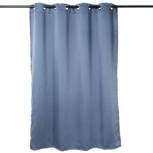 Solid Grommet Window Curtain 1