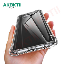AKBKTII Soft TPU Case for Samsung Galaxy S10 S10+ Shockproof Clear Silicone For S9 S8 note 9 8 cover