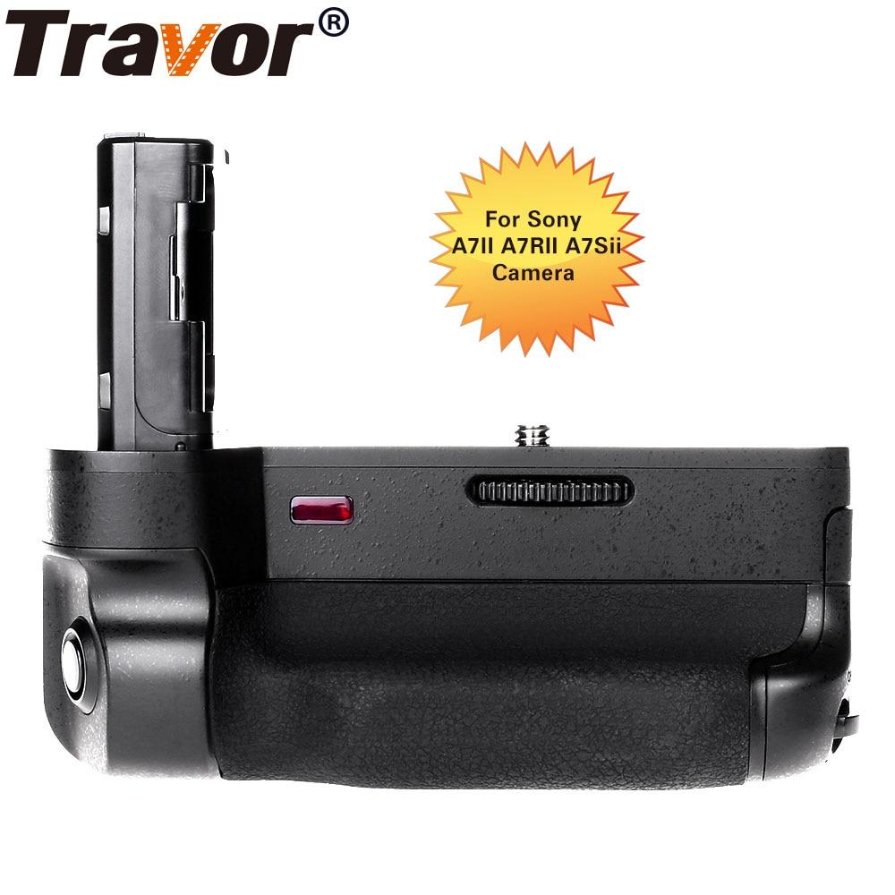 Travor Battery Grip BG 3EIR with IR Function for Sony A7II A7RII A7Sii Mirrorless Digital Camera