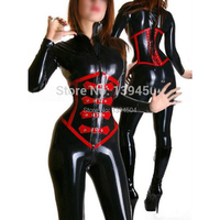 2015 New Hot Sexo Babydoll Body Catsuit Latex Catsuits With Corset Rubber Suit Fetish Sexy Uniform