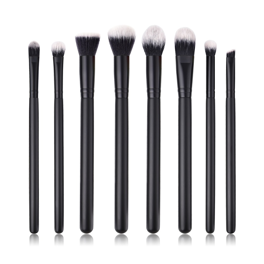 BBL 8pcs Makeup Brushes Eye Shadow / Powder / Blender / Concealer / Flat Foundation / Blush / Kabuki Brush Reals Professional mymei new professional flat contour blusher kabuki blush brush makeup cosmetics tools