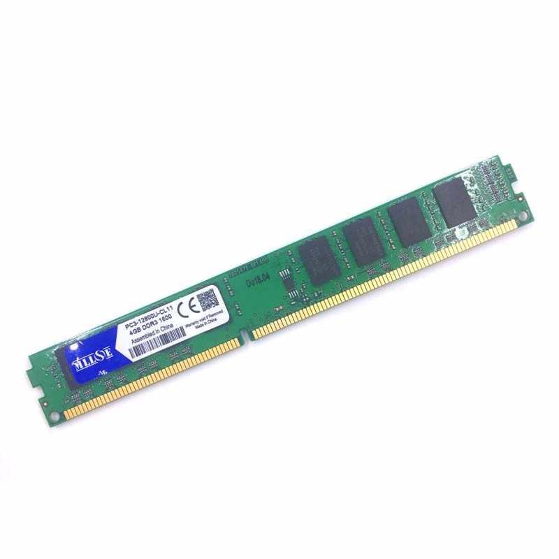 MLLSE DDR3 2 ギガバイト 4 ギガバイト 8 ギガバイト 1066 mhz 1333 mhz 1600 MHZ PC3-8500U PC3-10600U PC3-12800U デスクトップコンピュータの ram メモリメモリアラム DIMM 2 グラム 4 グラム 8 グラム