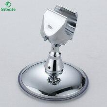 Sble 360 Регулируемый сильный присоски душем Кронштейн держатель всасывания универсальный Ванная комната перемещение головы держатель без сверления