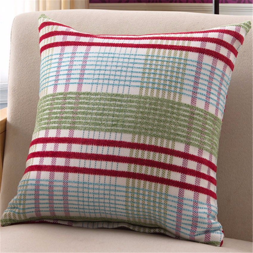 New year pink stripes somehow squares Comfortable environment Pillow Case for baby Children gift bedroom