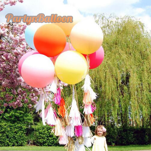1PC Wedding Valentine Party Round 45CM Colorful Giant Balloon 18inch Decorate Balloon