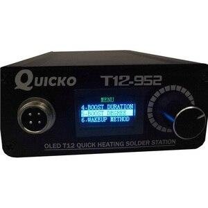 Image 4 - Station de soudage chauffage numérique, fer à souder électronique nouvelle Version STC T12 OLED
