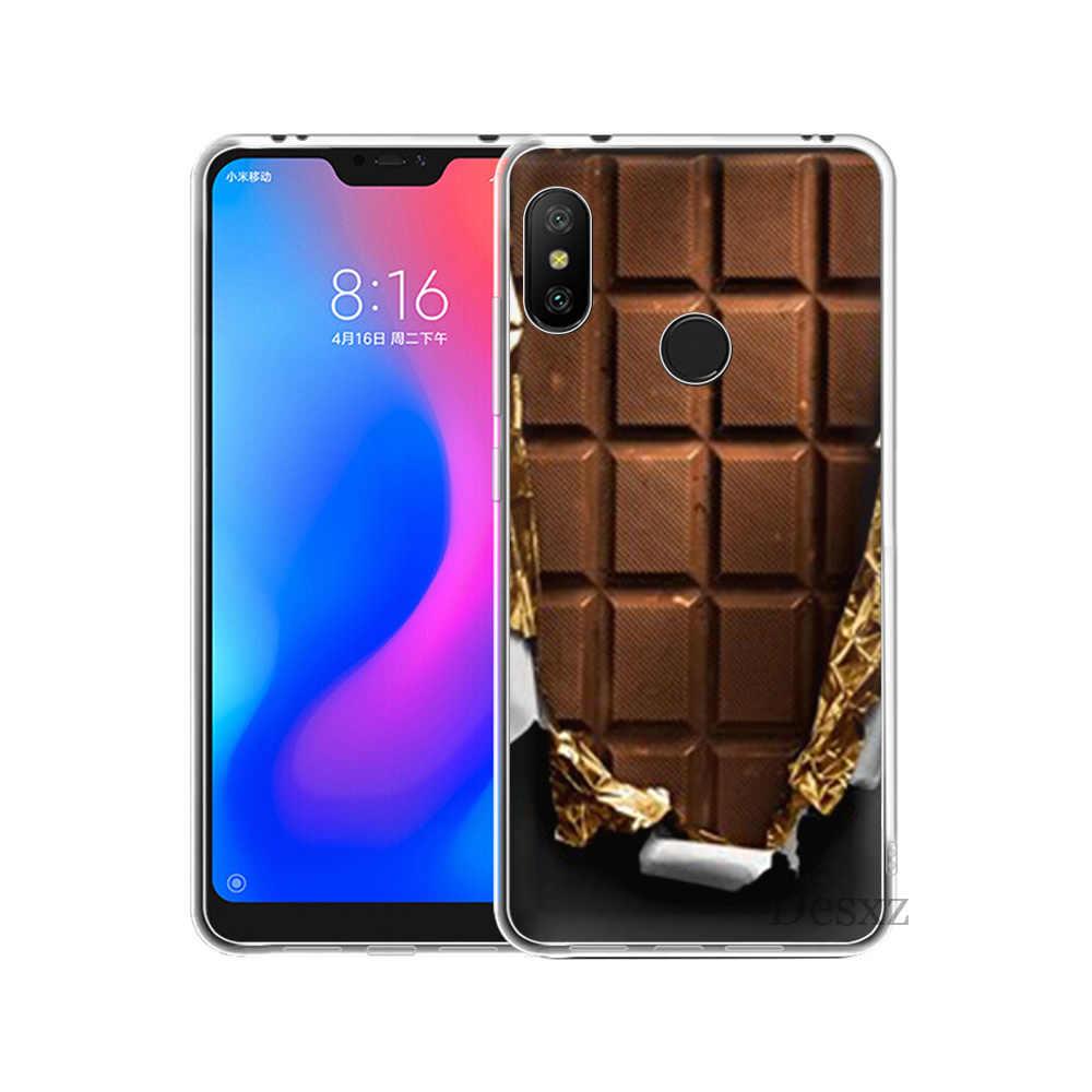 Cioccolato Copertura Della Cassa Del Telefono Per La Nota Redmi 3 4 4X5 Pro 5A UN Prime Custodie