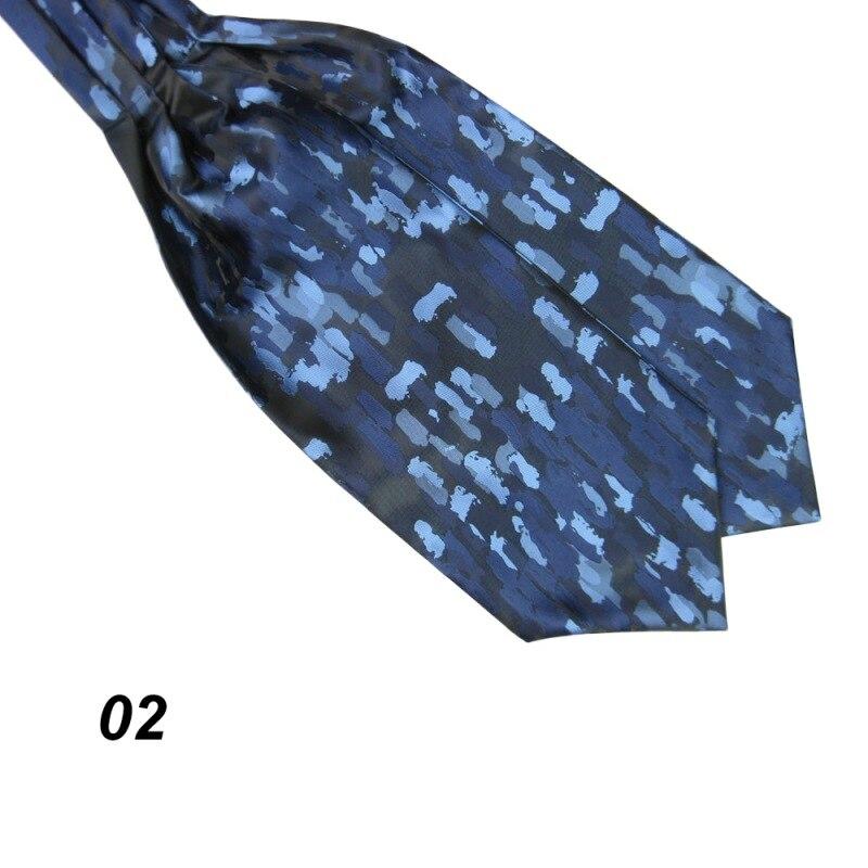Ascot Krawatte Manner Hals Binden Satin Selbst Hochzeit Krawatten