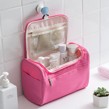 Women Travel Cosmetic Bag Hanging Nylon Wash Toiletry Bag Men's Bath Make Up Bag Necessaries Para Mulheres Maquiagem