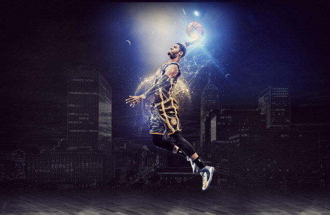 057 Paul George - NBA Indiana Pacers Basketball Stars 22x14 Poster
