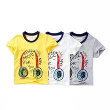 Boy short sleeve T-shirt cartoon children summer new fashion T-shirt girl O-Neck shirt Pure cotton short sleeve T-shirt недорго, оригинальная цена