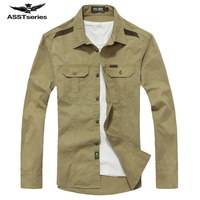 AFS JEEP Fall Men S Casual Long Sleeve Shirt Men S Casual Men S Workwear Shirt