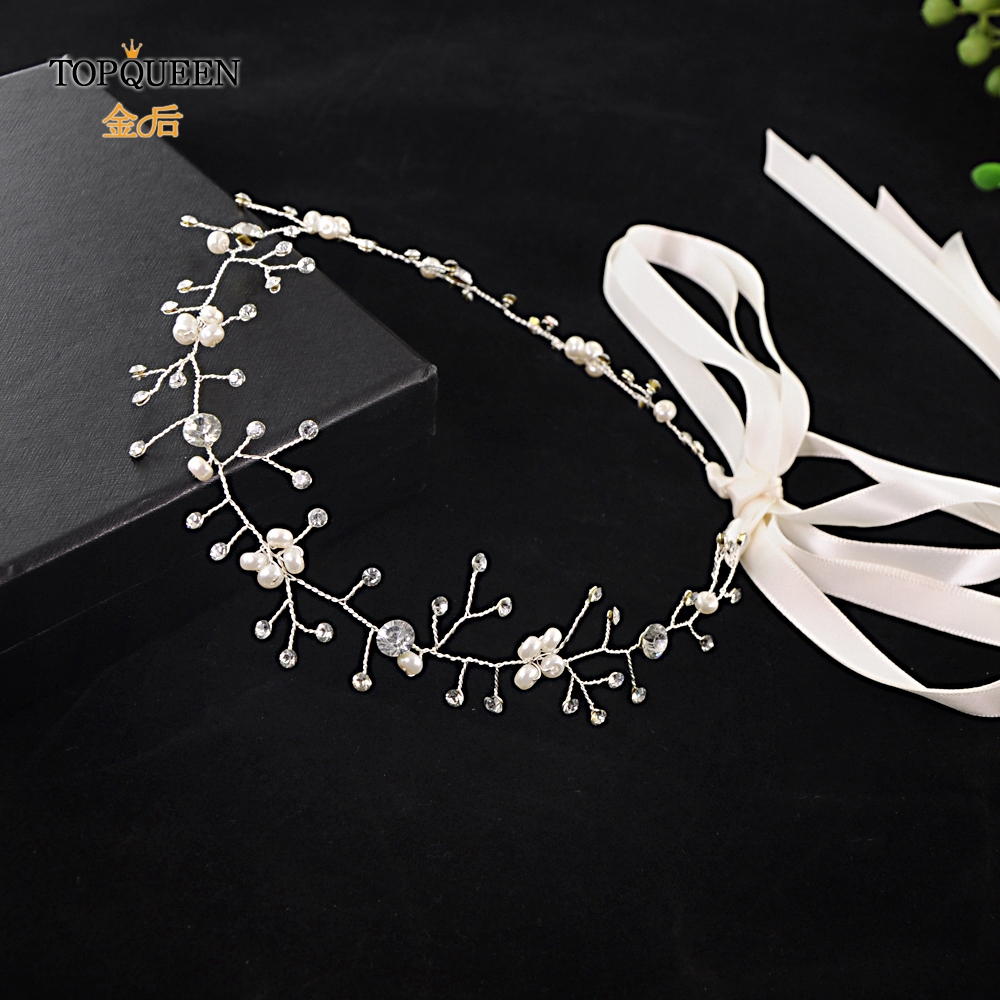TOPQUEEN HP119 Wedding Tiara Bridal Headband Wedding Headwear Wedding Hairband Wedding Hair Accessories Bridal Headwear