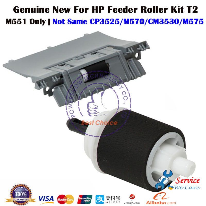 1 Set Original New RM1 8131 RM1 8129 Separation Pad Pick up Roller For HP M551