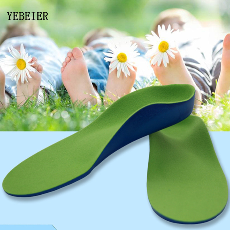 Kids Children EVA orthopedic insoles for children shoes flat foot arch support orthotic Pads Correction health feet care kids children pu orthopedic insoles for children shoes flat foot arch support orthotic pads correction health feet care w046