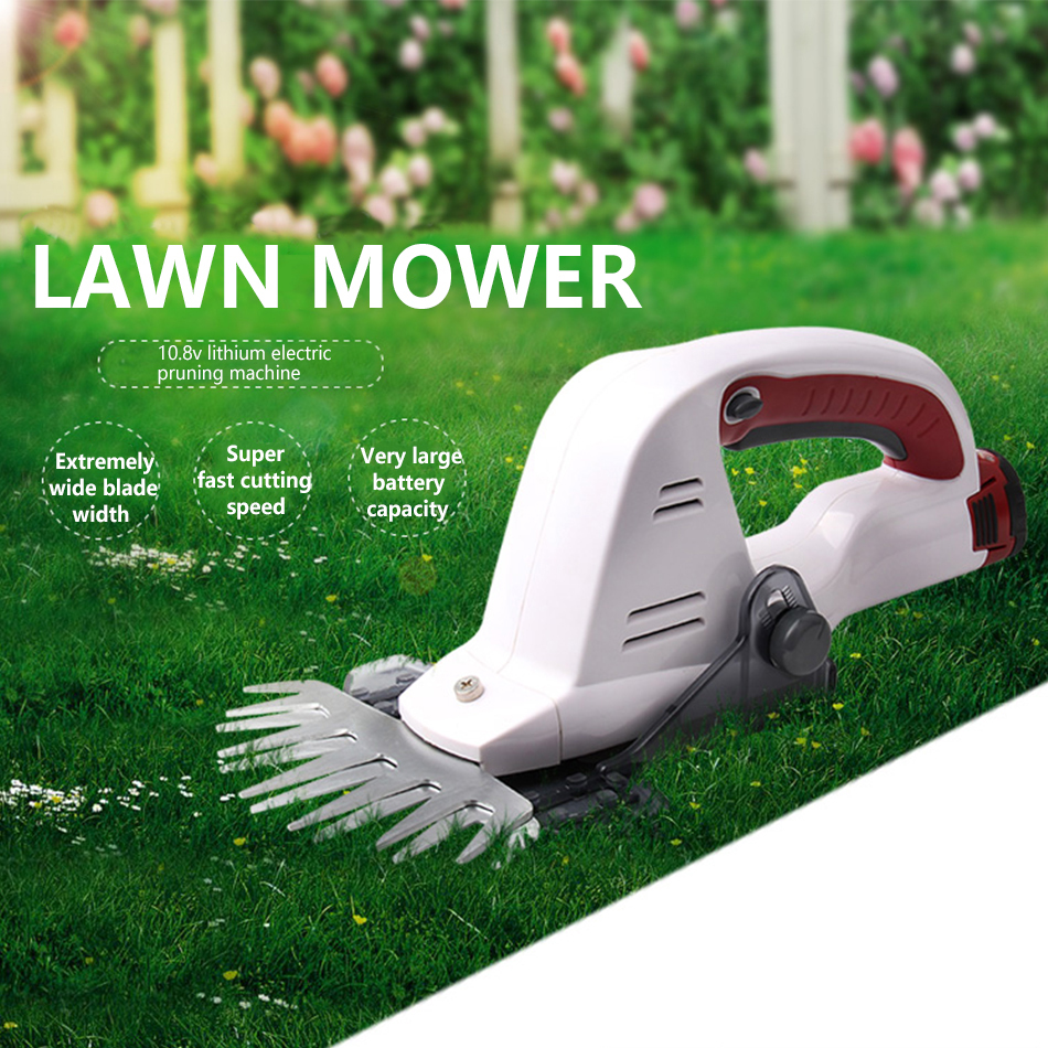 Trimmer Electric Mower Edger Garden Portable Scissor Hedge Pruning Lawn Weed Home 12V Shear NEWONE Grass Grass Shear Cordless