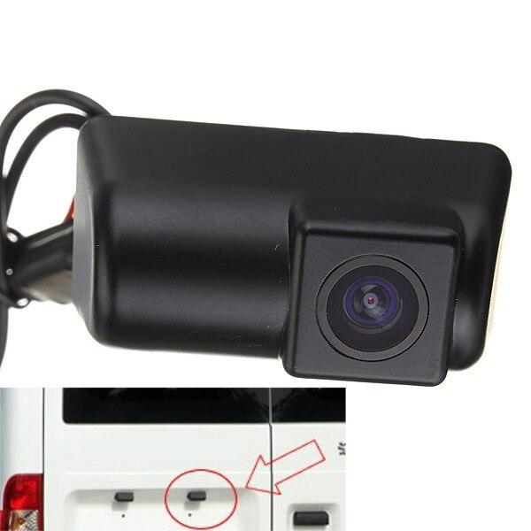 imágenes para Nuevo 170 Grados Del Coche Del CCD de Marcha Atrás Vista Posterior De Matrícula Aparcamiento Automático Sistema de Copia de seguridad de la cámara para Ford Transit Connect cámara