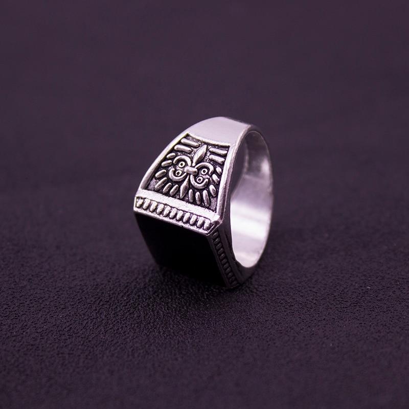 навсегда черная пятница чтобы обеспечить самые низкие цены мужчины байкер серебряные ювелирные изделия обручальные кольца для мужчин