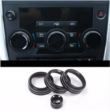 Black Aluminum Volume and Air Conditioning Knobs Trim For Land Rover Discovery Sport 2015 2016 2017 Car Accessories 5 modes cordless oral irrigator usb rechargeable water floss portable dental water flosser 300ml irrigator dental teeth cleaner