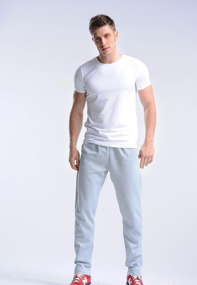 Uwback 17 Plus Size 4XL New Sweat Pants Men Joggers Pants Elastic Waist Loose Sweat Pants For Men Casual Trousers homme CAA329 13