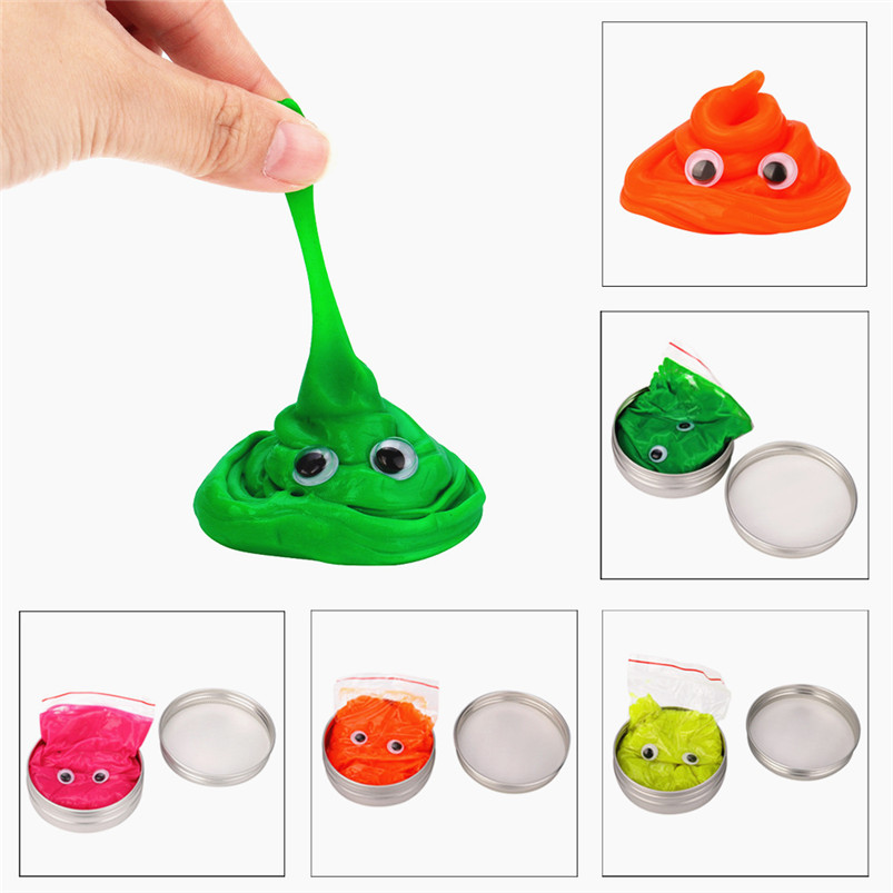 Baby Modeling Clay Air Drying Play Plasticine Bounce Rubber Mud Fruit Aroma Kids Toy Scented Tub Stress Relief No Borax best gif