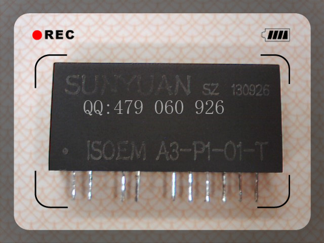 [ZOB] Isolation Amplifier ISOEM A3-P1-O1-T Magnetoelectric Isolation Zero Adjustable Gain 0-20mA To 4-20mA  --2PCS/LOT