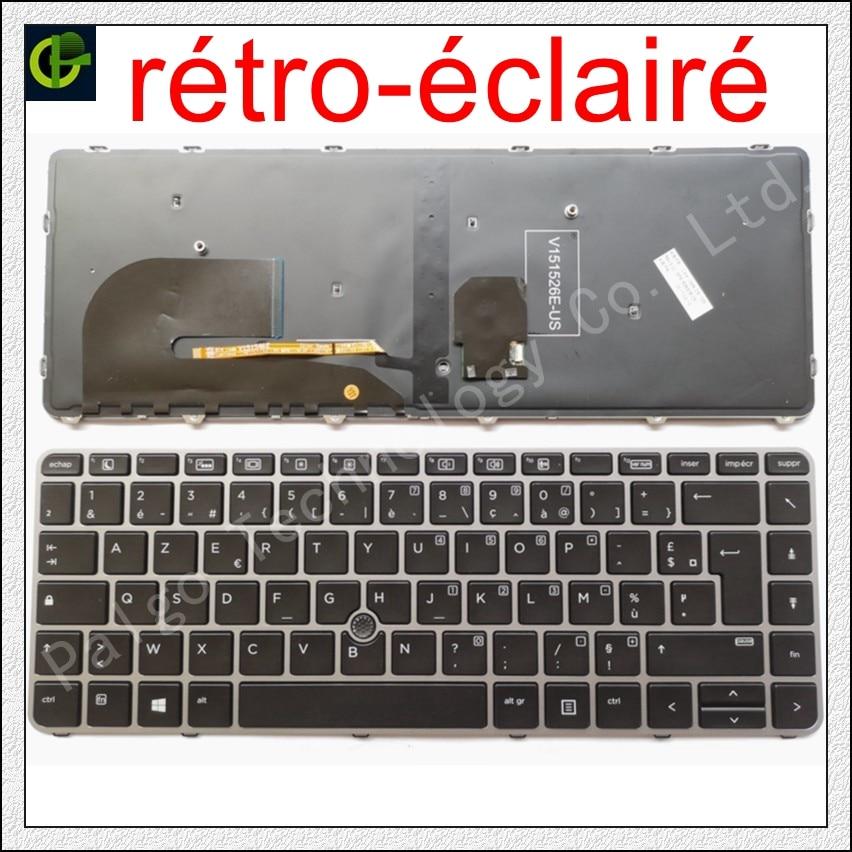 dns mb50ia1 klavye - New French Azerty Backlit keyboard for HP EliteBook 840 G3 745 G3 745 G4 840 G4 848 G4 836308-051 821177-051 NSK-CY2BV FR